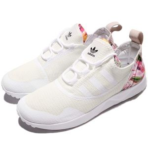Adidas Originals Flux Halo Pink Floral Sneakers